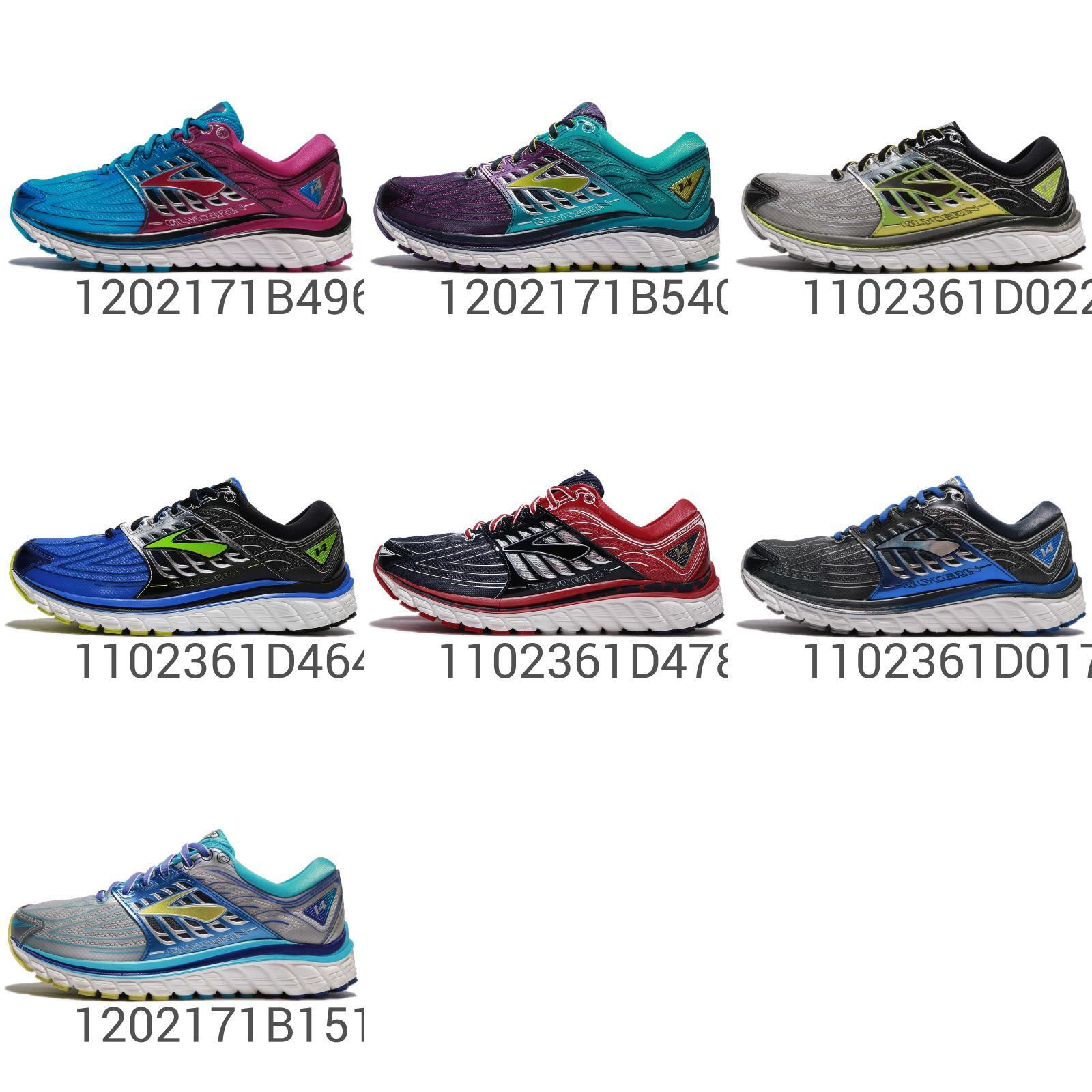 Brooks Glycerin 14 Hombre Mujer Running Zapatos TENIS Cojín neutral elige 1