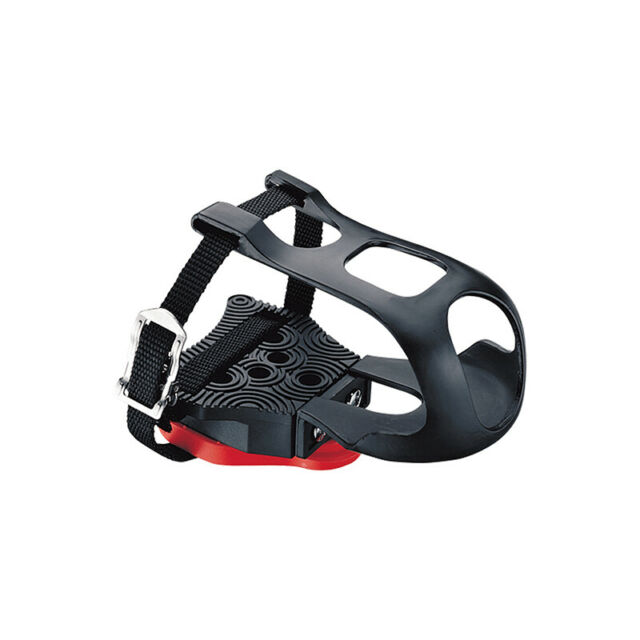New Black Toe Clips Bicycle Pedal Strap Sports Fitness Equipment Accessories.AU