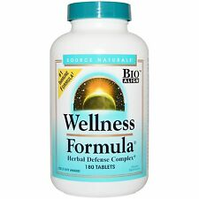 Wellness Formula - 180 Tablets by Source Naturals - Herbal Defence Complex