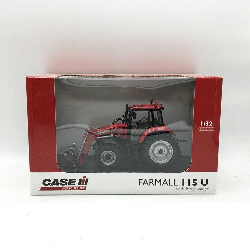 più ordine 1 32 UNIVERSAL HOBBIES Case IH Farmtutti 115U with with with davanti loader Tractor modello Rare  Spedizione gratuita per tutti gli ordini
