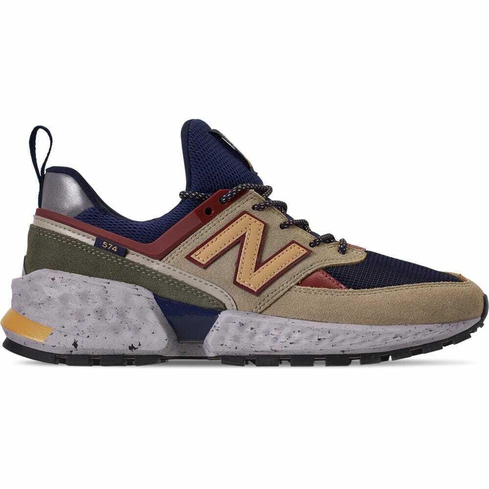 Men/'s New Balance 574 Sport V2 Casual Shoes Navy//Gold MS574LTA 323
