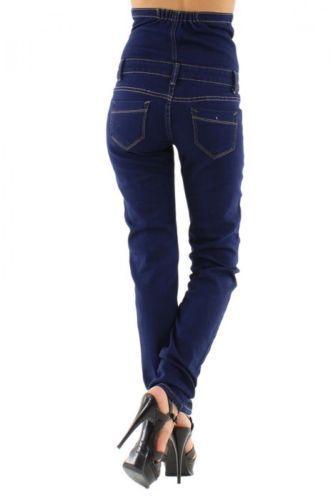 e7de6a9eb6 Jean Button High Waist Corset Slim Enhance Jeans Brazil Celebrity ...