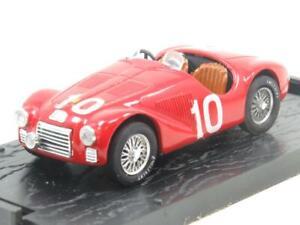 Brumm Diecast R182 Ferrari 125 S 1947 Red #10 1 43 Scale Boxed
