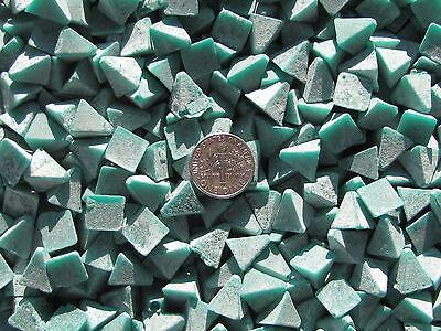 de-burring Otec Plastic Tumbling Polishing Media 1 Lb triangle .375 x .400