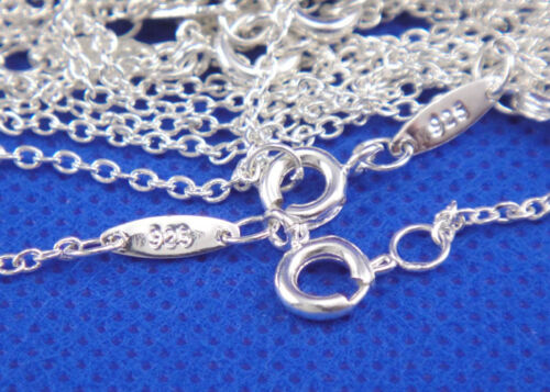 Multi Themes 925 Sterling Silver Pendant Necklace Chain Women Wedding Party Gift