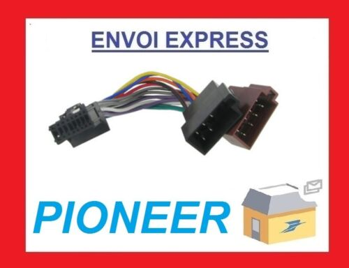CABLE ISO AUTORADIO PIONEER DEH-P6500R DEH-P6600R DEH-P6700MP DEH-P6800MP DEH-P6