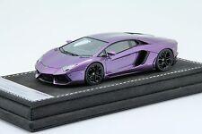 1/43th Looksmart Lamborghini Aventador LP700 Metallic Violet, MR BBR Frontiart
