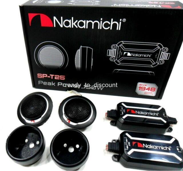 NAKAMICHI SP-T25 25MM KSV CAR AUDIO NEODYMIUM TWEETER SYSTEM 15W RMS
