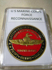 US MARINE CORPS FORCE RECONNAISSANCE Challenge Coin