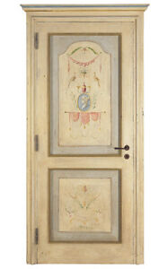 Porta Legno Massello decorata a mano mod. Tintoretto Mobili di ...