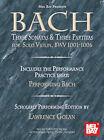 Bach: Three Sonatas & Three Partitas for Solo Violin, Bwv 1001-1006 by Mel Bay Publications (Paperback / softback, 2006)