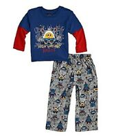 Baby Boys Clothes Class Club Toddler 2-piece Robot Pajama Set 2t