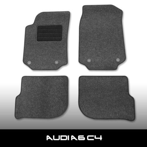 - Antracite Ago Feltro 4tlg Tappetini AUDI a6 c4 4a clip Audi 1994-1997