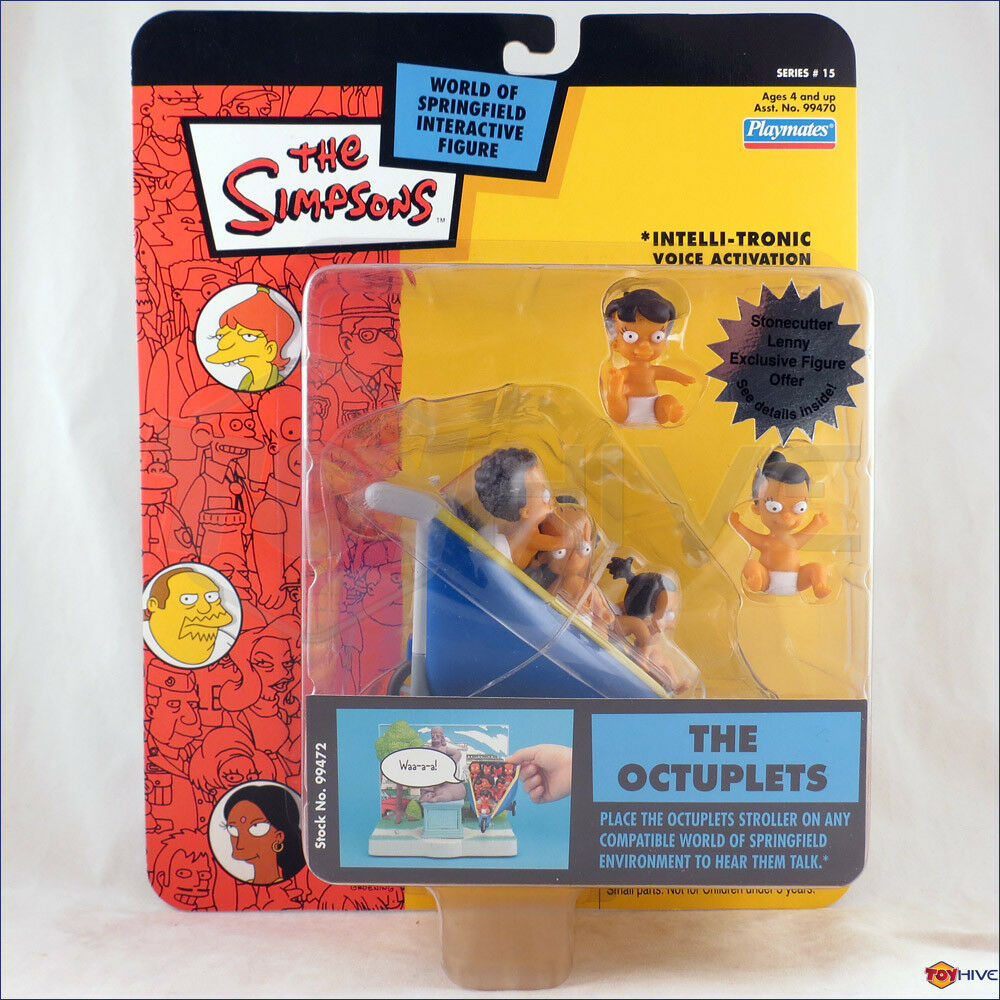 The Simpsons - The Octuplets series 15 interactive action figure by Playmates