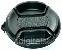 Lens Cap For Canon Powershot Sx20 Sx10 Sx1 Is Camera + Holder