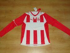 Olympiakos Soccer Jersey Olympiacos Greece Puma Top Football Shirt NEW