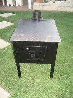Wood Heater Pot Belly Outdoor / Indoor Heater