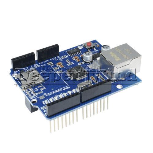 1//2//5PCS W5100 Ethernet Shield For Arduino Board UNO MEGA2560 R3 ATMega 328 1280