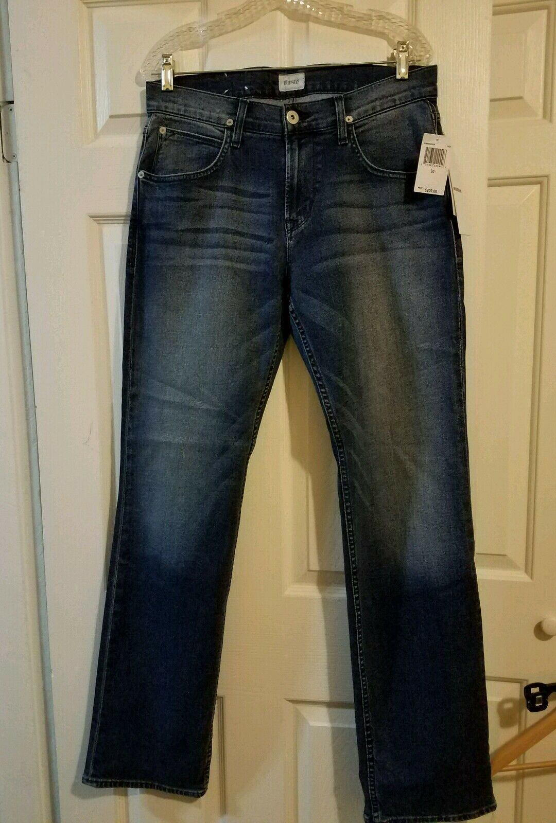 New Men's bluee Hudson Jeans size 30