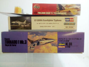Plastic-Aircraft-Kits-Scale-1-72-Selection-Set-19-UK-Fighters-and-Trainers