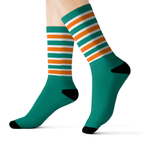 Miami Dolphins Stance Socks Size M or L Brand New Free Shipping!