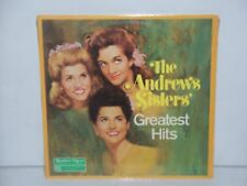 SEALED THE ANDREWS SISTERS GREATEST HITS LP 1985 READERS DIGEST RECORDS