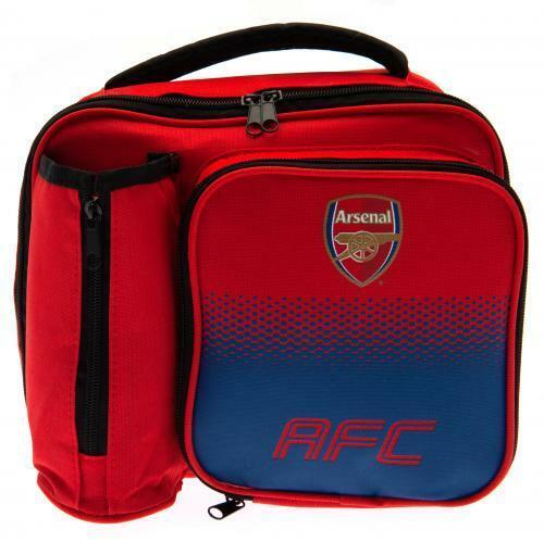 Arsenal FC Fade déjeuner sac avec porte-bouteilles-Football Cadeau