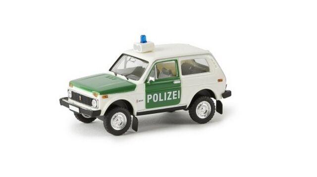 "Brekina 27214 -  1/87 Lada Niva ""Polizei""  Td - Neu"