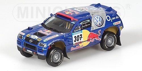 Volkswagen Race Touareg Saby Rally Barcelona Dakar 2005 1:43 Model MINICHAMPS