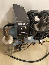 New Listingair Techniques Airstar 30 Dental Air Compressor Unit 15 Hp Oil Free