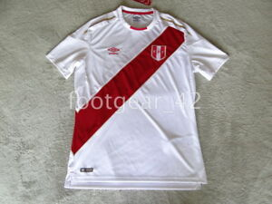 Image is loading Official-Authentic-Peru-Jersey-Soccer-2018-Russia-World- 219fa5ef4