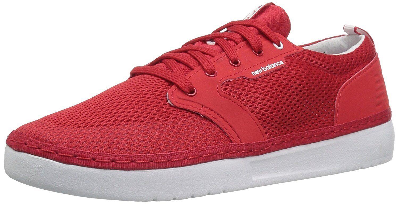 Balance Mens Apres Baseball Shoe, Red/White, 13 D US