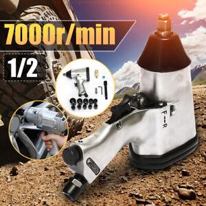 17pc-Air-Impact-Wrench-Kit-1-2-039-039-Drive-Socket-Set-Rattle-Gun-Pneumatic-Tyre-Tool