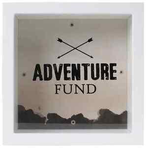 Splosh change box adventure fund moneybank money box for Travel fund piggy bank