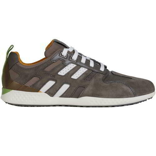 Geox Snake 2 Mens Breathable Leather Walking Trainers schuhe Größe 8-11
