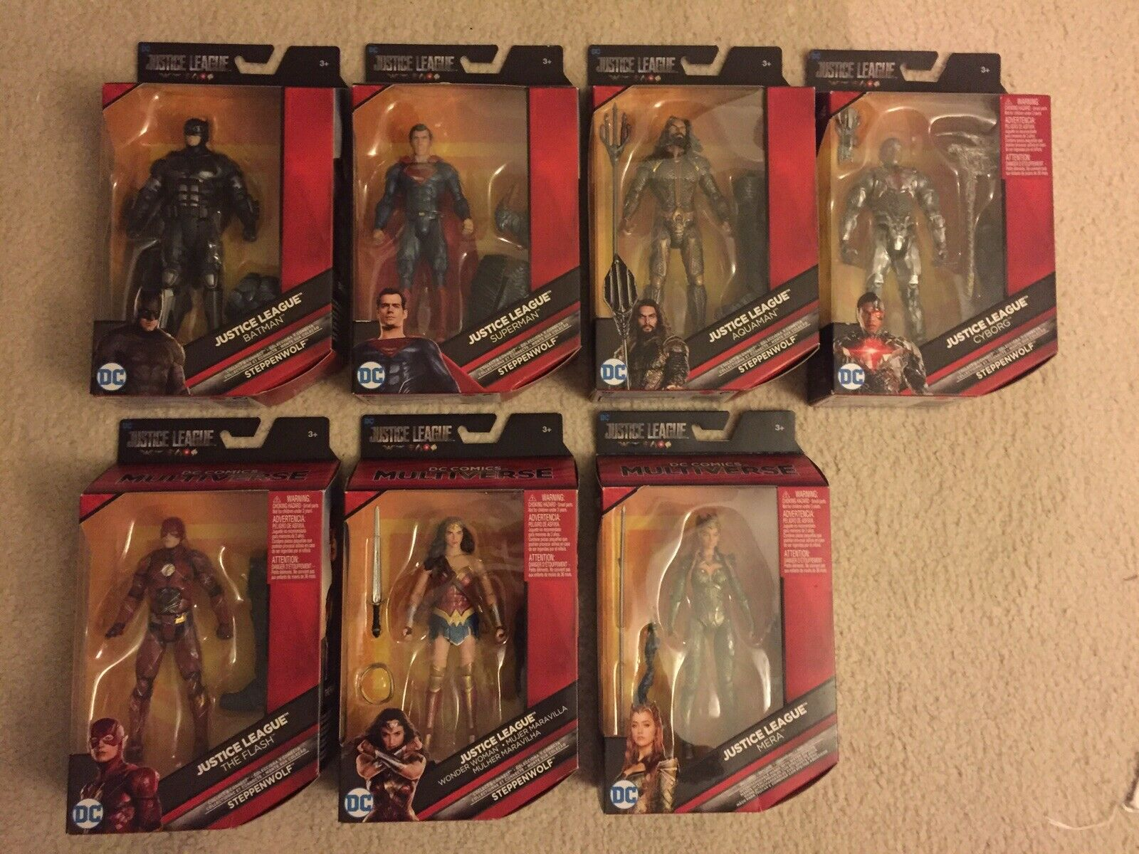 DC Multiverse Justice League  Movie Lot