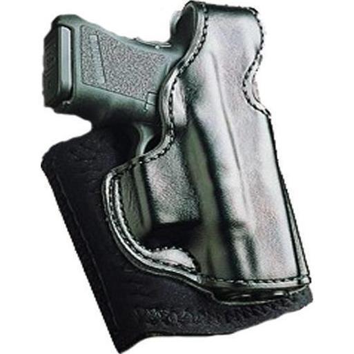 Desantis DIE HARD de tobillo Plataforma Funda Para Glock 42, mano izquierda, Cuero Negro
