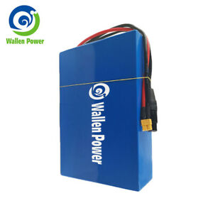 48v ebike lithium li-ion battery pack for 750W-1000W electric scooter 3A charger
