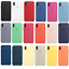 Original-Genuine-Silicone-Case-Cover-For-Apple-iPhone-X-XR-XS-Max-7-8-6-6S-Plus thumbnail 1