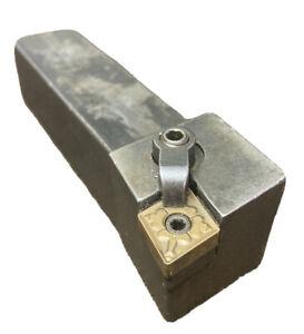 "Valenite 1/"" MCKNR-16-4 C RH Metal Lathe Turning Tool Holder CN-43 Insert"