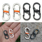 8-Shaped Outdoor Hook Buckle Snap Clip Mount Climbing Carabiner Chain Key Chain