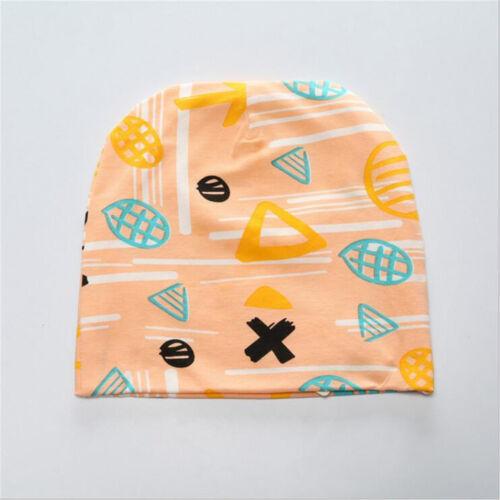 Newborn Kids Baby Boy Girl Infant Printing Cotton Comfy Soft Warm Hat Cap Beanie