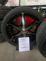 """24"""" Silverado / Sierra 6-5.5 Wheels with 305/35R24 Tires Hamilton Ontario Preview"""