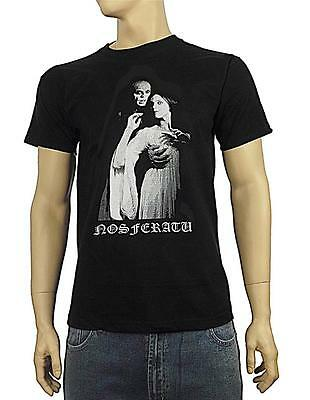 Nosferatu T-shirt vampire goth horreur zombie Sz S-XXXL
