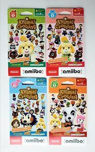 Animal Crossing Amiibo Card Packs Series 1,2,3&4 (Nintendo ...