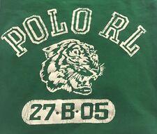 Kids Children's Polo Ralph Lauren Short Sleeve Graphic Tee T-Shirt Green SZ XL