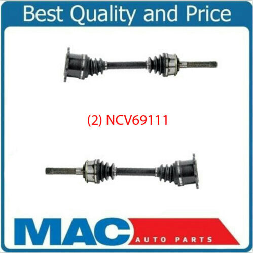 CV Drive Axle Shafts 2 Fits 93-98 Toyota T100 4 Wheel Drive Front Left /& Right