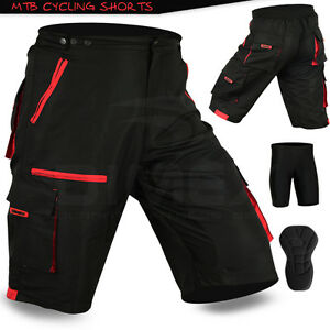 e3442258a MTB Cycling Short Off Road Cycle With CoolMax Padded Liner Shorts ...