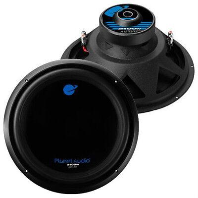 new 2 15 dvc subwoofer speakers bass car audio pair dual voice ebay. Black Bedroom Furniture Sets. Home Design Ideas