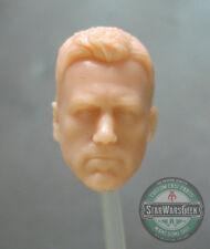"ML197 Batfleck Ben Affleck Bruce Wayne Custom Cast head sculpt use w/6"" DC"